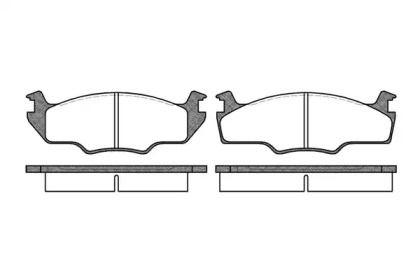 Передние тормозные колодки 'ROADHOUSE 2121.10'.