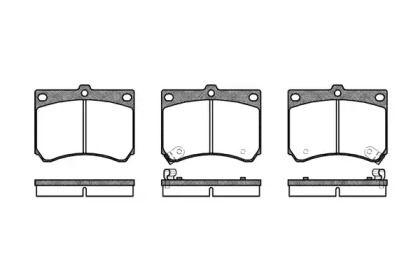 Переднї гальмівні колодки на Мазда МХ5 'ROADHOUSE 2333.02'.
