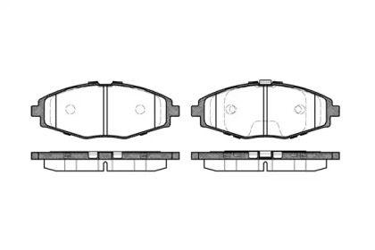 Переднї гальмівні колодки 'ROADHOUSE 2696.00'.