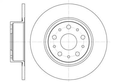 Задний тормозной диск на LANCIA KAPPA ROADHOUSE 6457.00.