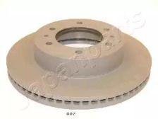 Вентилируемый передний тормозной диск на HUMMER H3 'JAPANPARTS DI-007'.