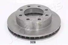 Вентилируемый передний тормозной диск на HUMMER H2 'JAPANPARTS DI-008'.