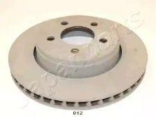 Вентилируемый передний тормозной диск на Додж Нитро 'JAPANPARTS DI-012'.