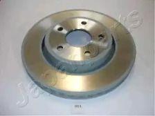 Вентилируемый передний тормозной диск на JEEP COMMANDER JAPANPARTS DI-061.