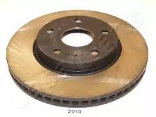 Вентилируемый передний тормозной диск 'JAPANPARTS DI-2010'.