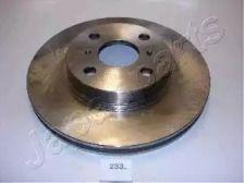 Вентилируемый передний тормозной диск на TOYOTA CORONA 'JAPANPARTS DI-233'.