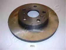 Вентилируемый передний тормозной диск на TOYOTA SUPRA 'JAPANPARTS DI-253'.