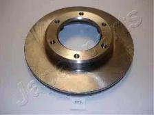 Вентилируемый передний тормозной диск на Тайота Ленд Крузер 'JAPANPARTS DI-272'.