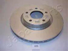 Вентилируемый передний тормозной диск 'JAPANPARTS DI-309'.