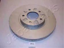 Вентилируемый передний тормозной диск на Мазда Кседос 9 'JAPANPARTS DI-313'.