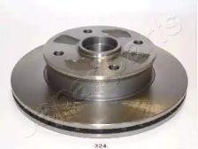 Вентилируемый передний тормозной диск на MAZDA 929 'JAPANPARTS DI-324'.
