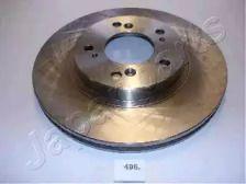 Вентилируемый передний тормозной диск на HONDA HR-V 'JAPANPARTS DI-496'.