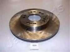 Вентилируемый передний тормозной диск на MITSUBISHI SIGMA 'JAPANPARTS DI-529'.