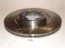 Вентилируемый передний тормозной диск на Субару Либеро 'JAPANPARTS DI-709'.