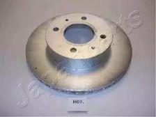 Вентилируемый передний тормозной диск на HYUNDAI ATOS 'JAPANPARTS DI-H07'.