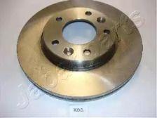 Вентилируемый передний тормозной диск на Киа Карнивал JAPANPARTS DI-K03.