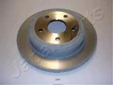 Задний тормозной диск на Джип Коммандер JAPANPARTS DP-001.