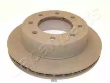 Вентилируемый задний тормозной диск на Хаммер Н2 'JAPANPARTS DP-005'.