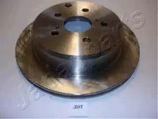 Вентилируемый задний тормозной диск на Тайота Супра 'JAPANPARTS DP-207'.