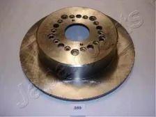 Вентилируемый задний тормозной диск на TOYOTA SUPRA 'JAPANPARTS DP-259'.