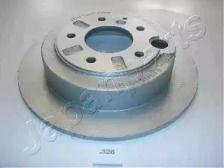 Задній гальмівний диск на Мазда Кседос 9 'JAPANPARTS DP-326'.