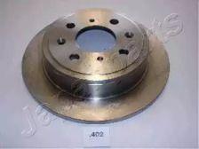 Задний тормозной диск на HONDA CONCERTO 'JAPANPARTS DP-402'.
