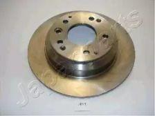 Задний тормозной диск на Хонда Легенд 'JAPANPARTS DP-411'.