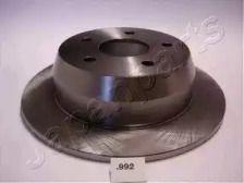 Задний тормозной диск на Джип Гранд Чероки 'JAPANPARTS DP-992'.