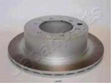 Вентилируемый задний тормозной диск на Хендай Терракан 'JAPANPARTS DP-H05'.