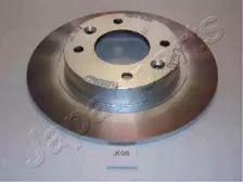 Задний тормозной диск на KIA CLARUS 'JAPANPARTS DP-K08'.