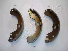 Барабанні гальмівні колодки на Мазда Триб'ют 'JAPANPARTS GF-309AF'.