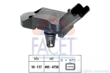 Датчик тиску наддуву FACET 10.3080.