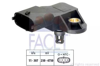 Датчик тиску наддуву FACET 10.3082.