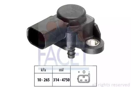 Датчик тиску наддуву FACET 10.3102.
