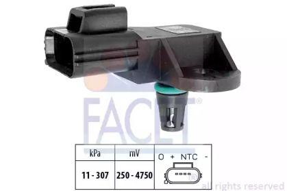 Датчик тиску наддуву FACET 10.3205.