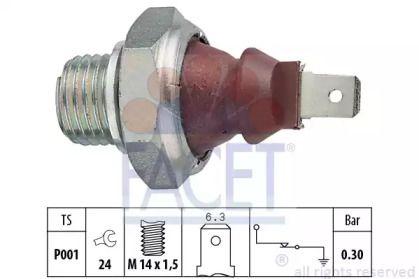 Датчик тиску масла FACET 7.0023.