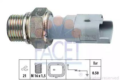 Датчик давления масла на Мини Купер FACET 7.0130.