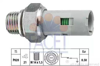 Датчик тиску масла FACET 7.0151.