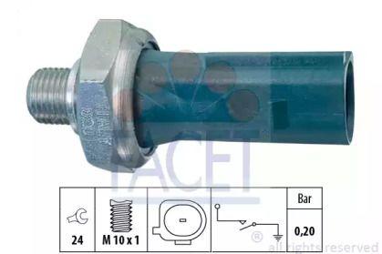 Датчик давления масла FACET 7.0219.