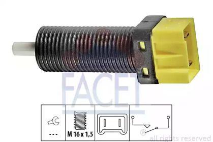 Выключатель стоп-сигнала 'FACET 7.1134'.