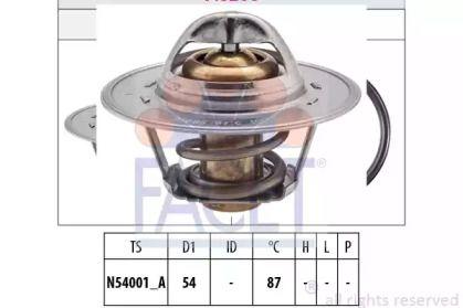 Термостат, охлаждающая жидкость 'FACET 7.8268S'.