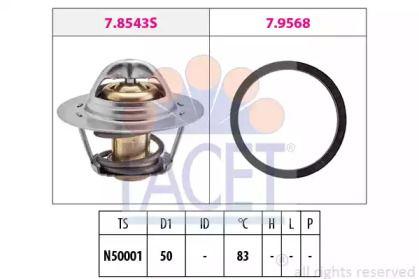 Термостат, охлаждающая жидкость FACET 7.8543.