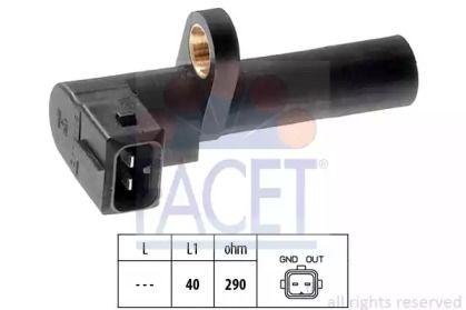 Датчик положення колінчастого валу FACET 9.0036.