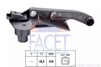Датчик положення колінчастого валу 'FACET 9.0177'.