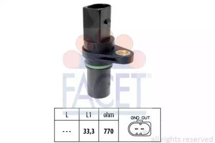 Датчик положения коленвала на Сеат Альтеа 'FACET 9.0640'.