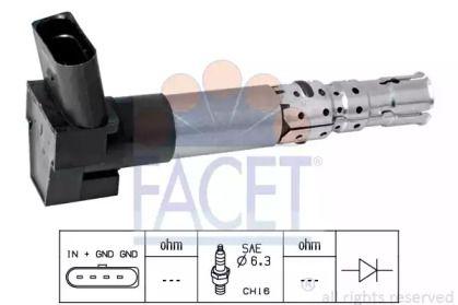 Катушка зажигания 'FACET 9.6337'.
