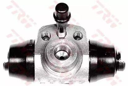 Задний тормозной цилиндр на Шкода Октавия А5 'TRW BWD113'.