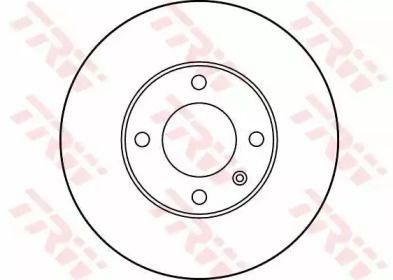 Тормозной диск 'TRW DF1516'.