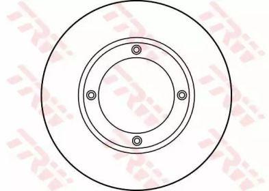 Тормозной диск на SUZUKI CARRY TRW DF1925.