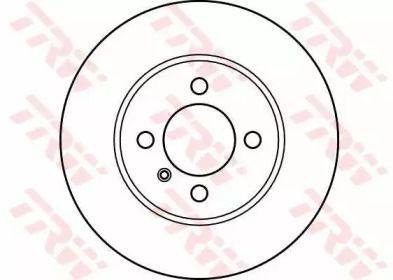 Вентилируемый тормозной диск на BMW Z1 'TRW DF2550'.